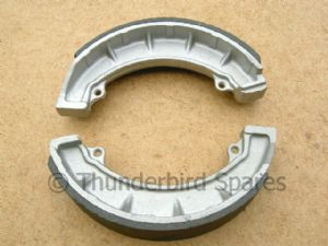 Brake Shoes, Triumph/BSA 8 inch, Pair, TLS Front, 37-1996 1968-1974*